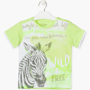 Camiseta zebra Losan
