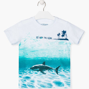 Camiseta niño tiburon