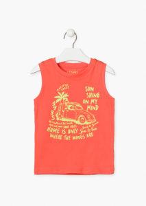 Camiseta sin mangas niño