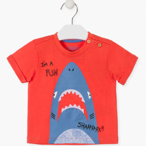 Camiseta tiburón bebé