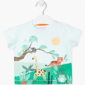 Camiseta animales selva
