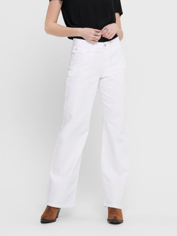 Pantalon ancho blanco